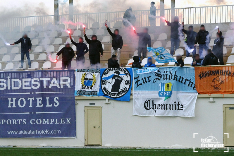 Chemnitzer FC - TSV Steinbach / Fussball Testspiel