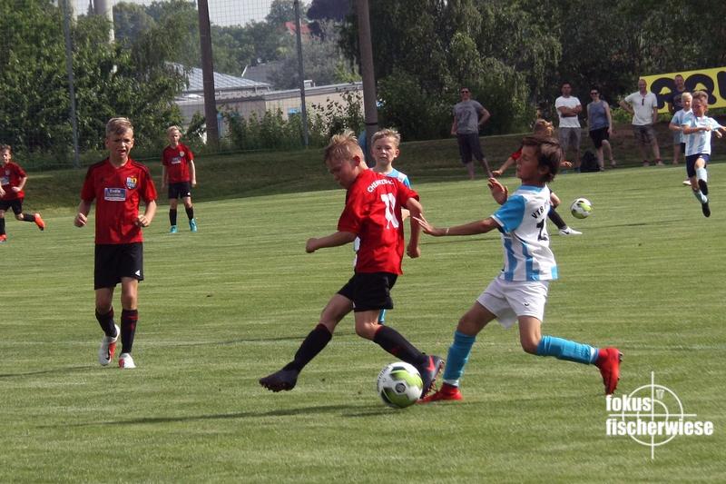 8582 Sommerfest- CFC U9 Trainingsspiel